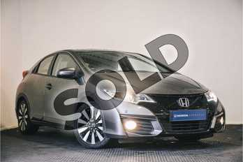 Honda Civic 1.8 i-VTEC SE Plus 5dr Auto  in Polished Metal at Listers Honda Stratford-upon-Avon