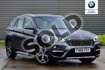 BMW X1 Diesel xDrive 25d xLine 5dr Step Auto in Mineral Grey at Listers Boston (BMW)
