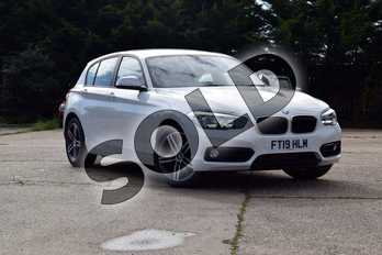 BMW 1 Series 118d Sport 5-door in Alpine White at Listers Boston (BMW)