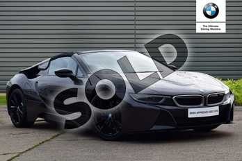 BMW I8 Roadster 2dr Auto in Sophisto Grey / Frozen Grey accent at Listers Boston (BMW)