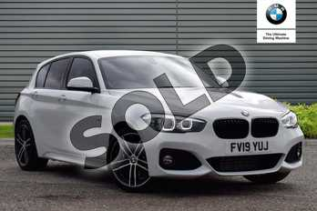 BMW 1 Series Special Edition 118d M Sport Shadow Edition 5dr in Alpine White at Listers Boston (BMW)