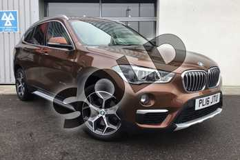 BMW X1 Diesel xDrive 25d xLine 5dr Step Auto in Chestnut Bronze at Listers King's Lynn (BMW)
