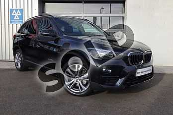 BMW X1 Diesel sDrive 18d Sport 5dr in Black Sapphire metallic paint at Listers King's Lynn (BMW)