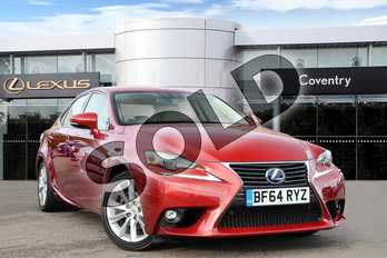 Lexus IS 300h Executive Edition 4dr CVT Auto in Mesa Red at Lexus Coventry