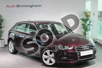 Audi A3 1.2 TFSI Sport 5dr in Shiraz Red, metallic at Birmingham Audi