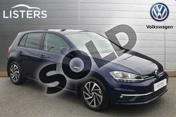 Volkswagen Golf 1.5 TSI EVO Match 5dr in Atlantic Blue at Listers Volkswagen Stratford-upon-Avon