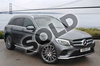 Mercedes-Benz GLC Diesel GLC 250d 4Matic AMG Line Prem Plus 5dr 9G-Tronic in Selenite Grey metallic at Mercedes-Benz of Hull