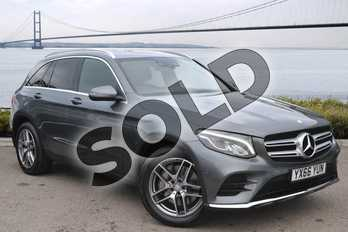 Mercedes-Benz GLC Diesel GLC 220d 4Matic AMG Line 5dr 9G-Tronic in Selenite Grey metallic at Mercedes-Benz of Hull