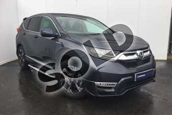 Honda CR-V 2.0 i-MMD Hybrid SE 5dr eCVT in Cosmic Blue at Listers Honda Solihull