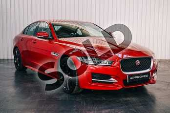 Jaguar XE 2.0 R-Sport 4dr Auto in Italian Racing Red at Listers Jaguar Solihull