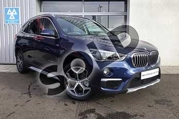 BMW X1 Diesel xDrive 20d xLine 5dr Step Auto in Mediterranean Blue at Listers King's Lynn (BMW)