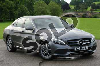 Mercedes-Benz C Class Diesel C220d Sport 4dr 9G-Tronic in selenite grey metallic at Mercedes-Benz of Boston