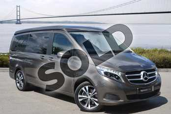 Mercedes-Benz V Class Diesel V220 d Marco Polo Sport 4dr Auto (Long) in indium grey metallic at Mercedes-Benz of Hull