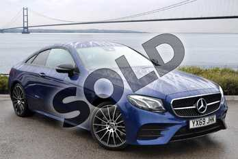 Mercedes-Benz E Class Diesel E220d AMG Line 2dr 9G-Tronic in brilliant blue metallic at Mercedes-Benz of Hull