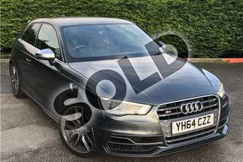 Audi A3 S3 TFSI Quattro 3dr in Metallic - Monsoon grey at Listers U Boston
