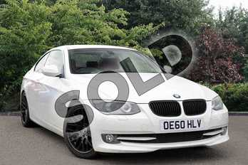 BMW 3 Series 335i SE 2dr DCT in White at Listers Toyota Nuneaton