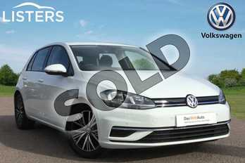 Volkswagen Golf 1.5 TSI EVO SE 5dr in Pure white at Listers Volkswagen Loughborough