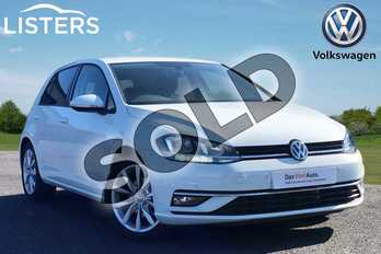 Volkswagen Golf 1.5 TSI EVO 150 GT 5dr in Pure white at Listers Volkswagen Loughborough