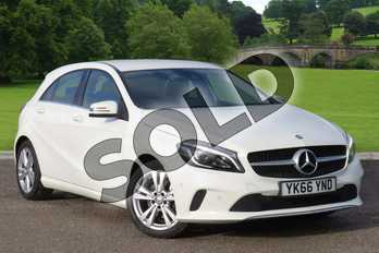 Mercedes-Benz A Class Diesel A200d Sport Premium 5dr Auto in Cirrus White at Mercedes-Benz of Boston