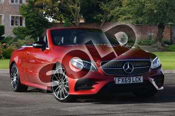 Mercedes-Benz E Class E220d AMG Line 2dr 9G-Tronic in designo hyacinth red metallic at Mercedes-Benz of Lincoln
