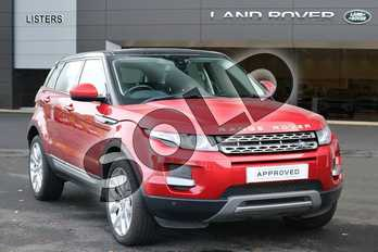 Range Rover Evoque Diesel 2.2 SD4 Pure 5dr (Tech Pack) in Firenze Red at Listers Land Rover Hereford