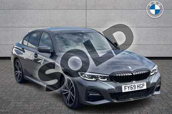 BMW 3 Series 320i M Sport 4dr Step Auto in Mineral Grey at Listers Boston (BMW)