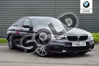 BMW 5 Series 530d M Sport 4dr Auto in Sophisto Grey Xirallic at Listers Boston (BMW)