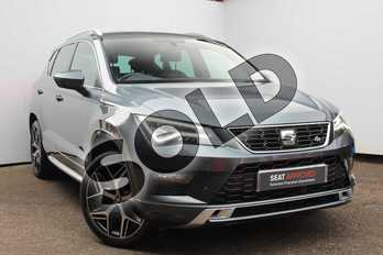 SEAT Ateca 1.4 EcoTSI FR 5dr DSG in Grey at Listers SEAT Worcester