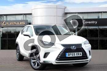 Lexus NX 300h 2.5 Takumi 5dr CVT (Pan roof) in Sonic White at Lexus Coventry