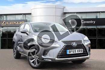 Lexus NX 300h 2.5 Takumi 5dr CVT (Pan roof) in Mercury Grey at Lexus Coventry