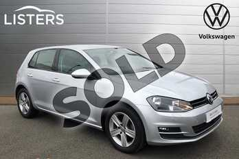Volkswagen Golf 1.4 TSI 125 Match Edition 5dr in Reflex silver at Listers Volkswagen Coventry