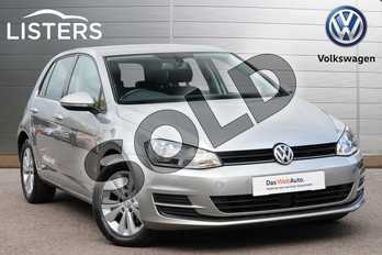 Volkswagen Golf 1.4 TSI SE 5dr in Tungsten Silver at Listers Volkswagen Leamington Spa