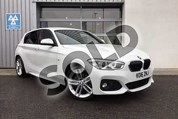 BMW 1 Series 120i M Sport 5dr Step Auto in Alpine White at Listers King's Lynn (BMW)