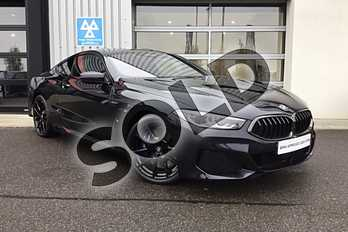BMW 8 Series Diesel 840d xDrive 2dr Auto in Carbon Black at Listers King's Lynn (BMW)