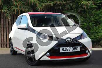 Toyota AYGO 1.0 VVT-i X-Press 5dr in Pure White at Listers Toyota Coventry