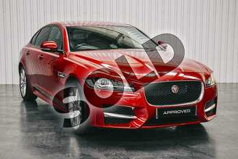 Jaguar XF 2.0i (250) R-Sport 4dr Auto in Firenze Red at Listers Jaguar Solihull