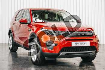 Land Rover Discovery Sport Diesel SW 2.0 TD4 SE Tech 5dr (5 Seat) in Firenze Red at Listers Land Rover Solihull
