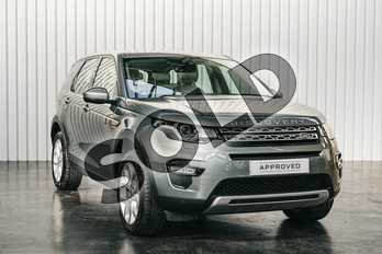 Land Rover Discovery Sport Diesel SW 2.0 TD4 180 HSE 5dr in Scotia Grey at Listers Land Rover Solihull