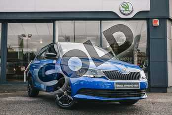 Skoda Fabia Special Editions 1.2 TSI Colour Edition 5dr in Race Blue at Listers ŠKODA Coventry