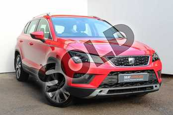 SEAT Ateca 1.4 EcoTSI SE 5dr DSG in Red at Listers SEAT Worcester