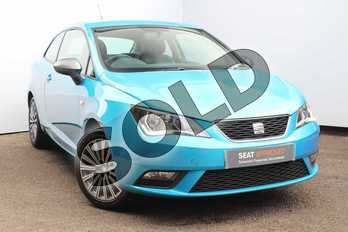 SEAT Ibiza Sport  Special Edition 1.2 TSI 90 Connect 3dr in Blue at Listers SEAT Worcester
