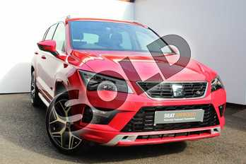SEAT Ateca 1.5 TSI EVO FR Sport (EZ) 5dr DSG in Red at Listers SEAT Worcester