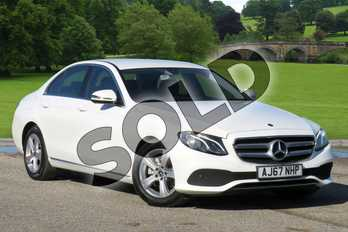 Mercedes-Benz E Class Diesel E220d SE 4dr 9G-Tronic in Polar White at Mercedes-Benz of Boston