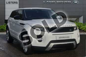 Range Rover Evoque Diesel 2.2 SD4 Dynamic 5dr Auto (9) (Lux Pack) in Fuji White at Listers Land Rover Droitwich