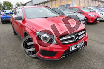 Mercedes-Benz GLA Class Diesel GLA 220d 4Matic AMG Line 5dr Auto (Premium) in Solid - Jupiter Red at Listers Toyota Grantham
