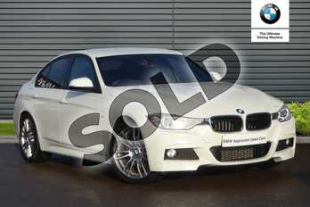BMW 3 Series 320i M Sport 4dr in Alpine White at Listers Boston (BMW)
