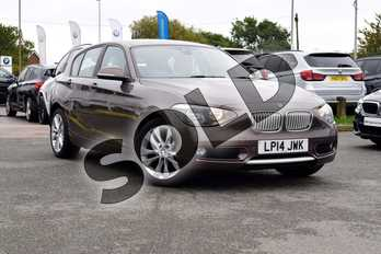 BMW 1 Series Diesel 118d Urban 5dr in Sparkling Bronze at Listers Boston (BMW)