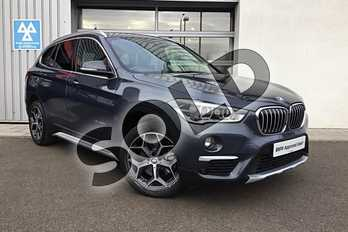 BMW X1 Diesel xDrive 20d xLine 5dr in Atlantic Grey at Listers King's Lynn (BMW)