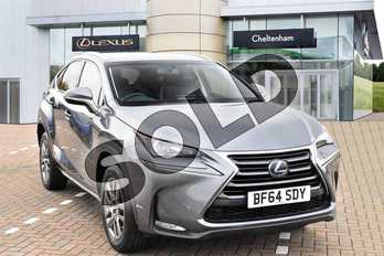 Lexus NX 300h 2.5 Luxury 5dr CVT in Mercury Grey at Lexus Cheltenham
