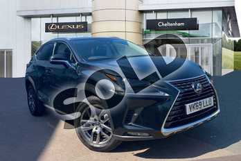 Lexus NX 300h 2.5 5dr CVT in Graphite Black at Lexus Cheltenham